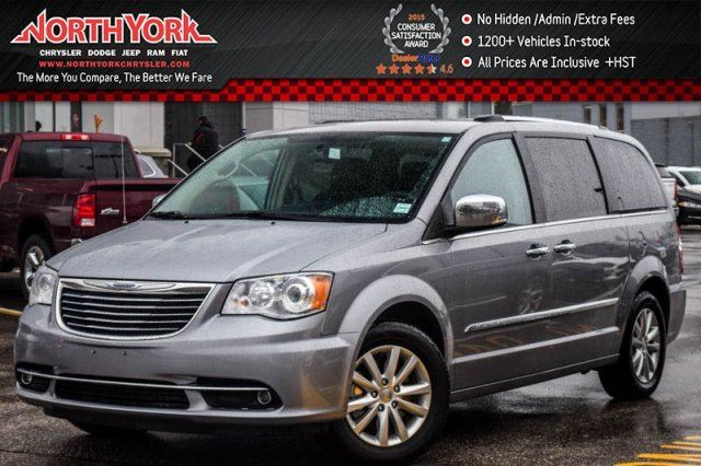 2016 chrysler town and country limited thornhill ontario used car for sale 2671934. Black Bedroom Furniture Sets. Home Design Ideas