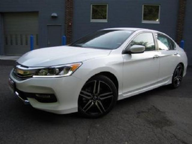 2017 honda accord sedan 4dr i4 cvt sport pearl white for 2017 honda accord lease price