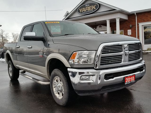 2010 dodge ram 3500 laramie 4x4 grey mike yarek dodge. Black Bedroom Furniture Sets. Home Design Ideas