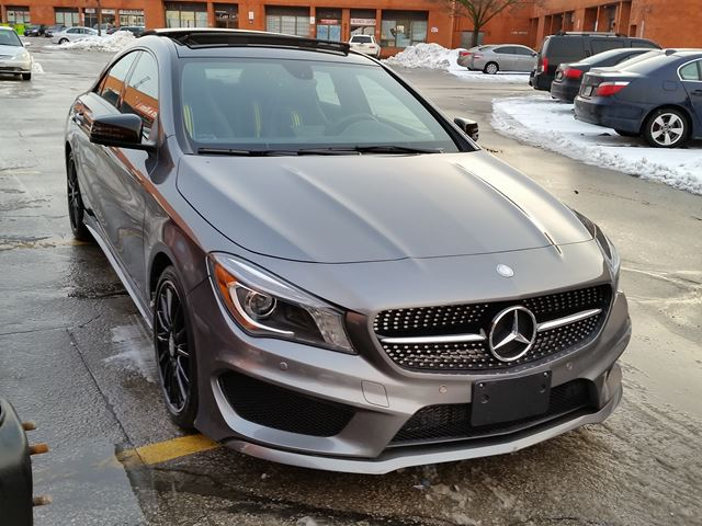 Used 2014 mercedes benz cla class cla250 toronto for 2014 mercedes benz cla class price