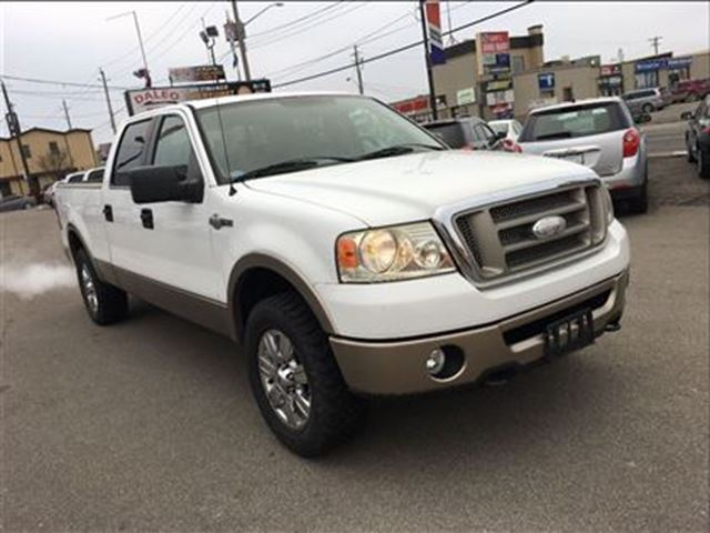 2006 ford f 150 king ranch 4x4 leather hamilton ontario used car for sale 2672360. Black Bedroom Furniture Sets. Home Design Ideas