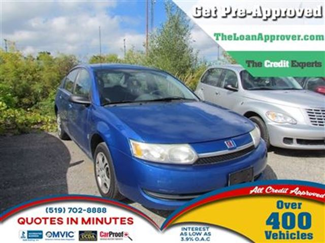 2004 SATURN ION 2 Midlevel   FRESH TRADE   AS IS in London, Ontario