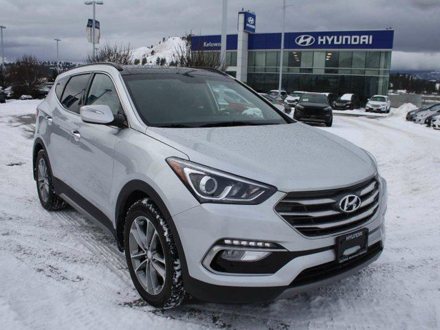 2017 hyundai santa fe 2 0t limited 4dr all wheel drive demo kelowna british columbia used car. Black Bedroom Furniture Sets. Home Design Ideas