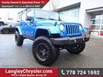 2016 Jeep Wrangler Unlimited Rubicon LOCALLY DRIVEN, ONE OWNER & ACCIDENT FREE in Surrey, British Columbia