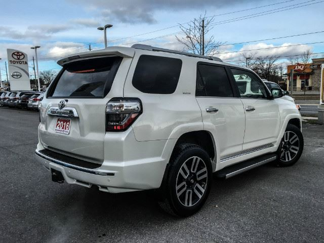 2016 toyota 4runner limited cobourg ontario used car. Black Bedroom Furniture Sets. Home Design Ideas