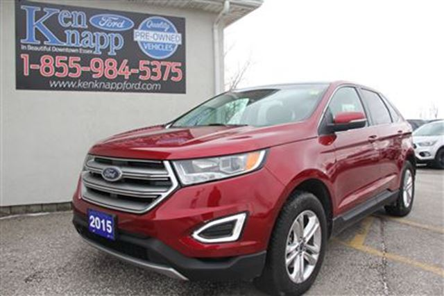 2015 ford edge sel essex ontario used car for sale 2672824. Black Bedroom Furniture Sets. Home Design Ideas