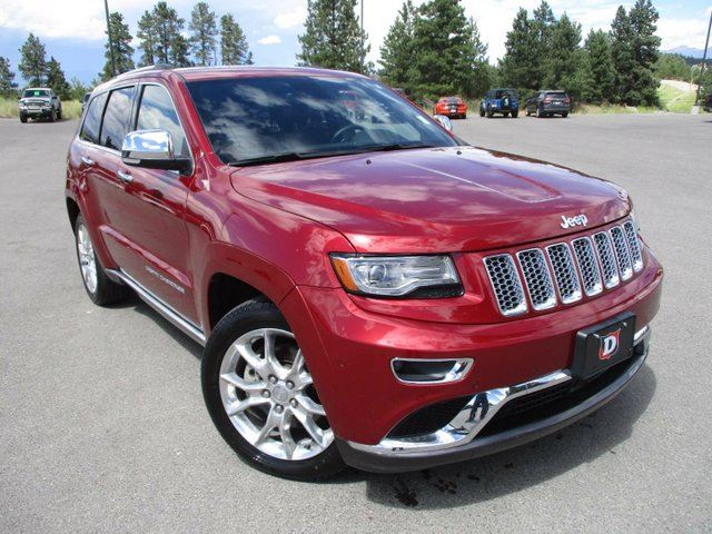 2014 jeep grand cherokee summit 4x4 cranbrook british columbia used. Cars Review. Best American Auto & Cars Review