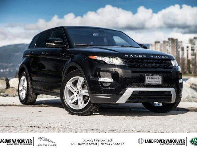 2012 land rover range rover evoque dynamic in vancouver british. Black Bedroom Furniture Sets. Home Design Ideas