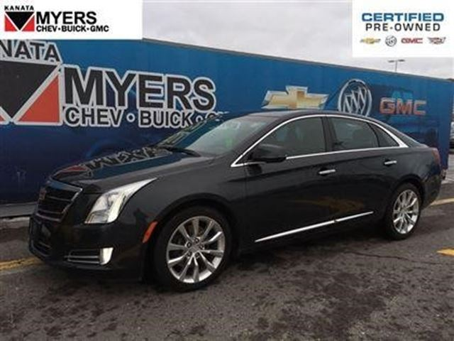 2016 cadillac xts luxury collection ottawa ontario used car for sale 2672996. Black Bedroom Furniture Sets. Home Design Ideas