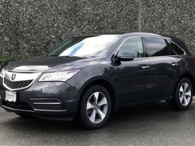 2015 Acura MDX at in North Vancouver, British Columbia