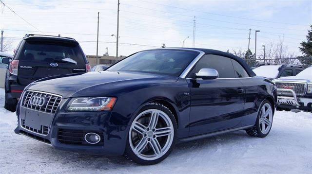 2010 Audi S5 CABRIOLET* 3.0 L V6 TURBO* PUSH START in Woodbridge, Ontario