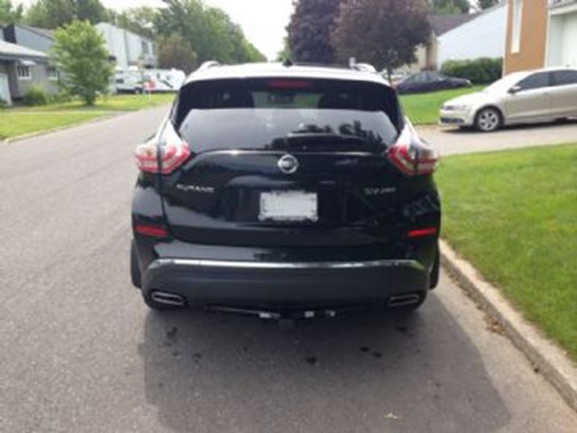 2015 nissan murano sv awd with navigation 3 500 lbs trailer hitch mississauga. Black Bedroom Furniture Sets. Home Design Ideas