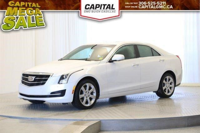 2015 Cadillac ATS Luxury AWD in Regina, Saskatchewan