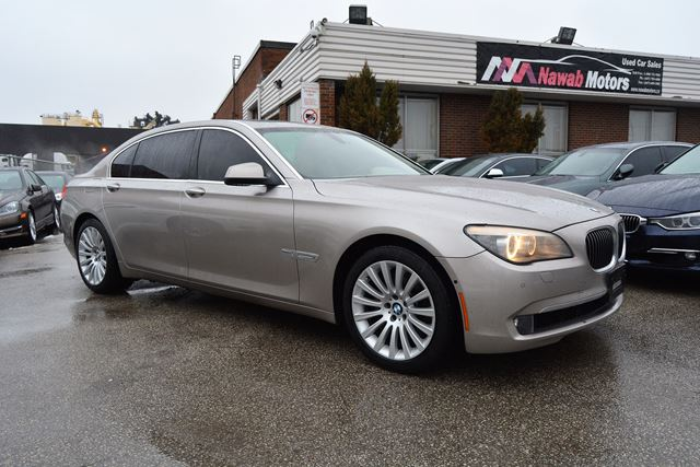 2009 bmw 7 series 750li entertainment package navigation brampton ontario car for sale. Black Bedroom Furniture Sets. Home Design Ideas