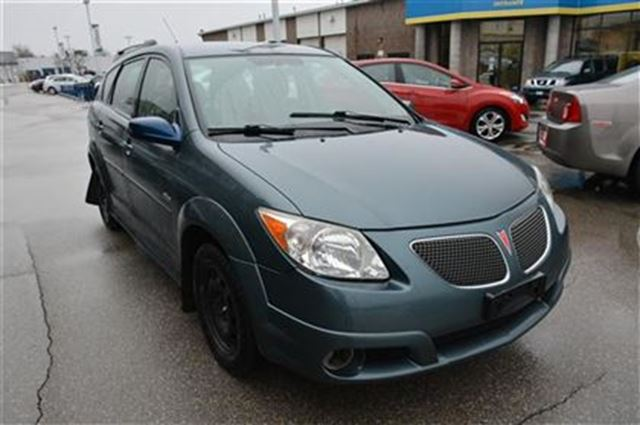 2007 pontiac vibe base milton ontario used car for sale. Black Bedroom Furniture Sets. Home Design Ideas