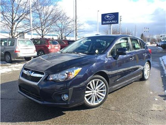 2014 subaru impreza w limited pkg mississauga ontario used car for sale 2674434. Black Bedroom Furniture Sets. Home Design Ideas