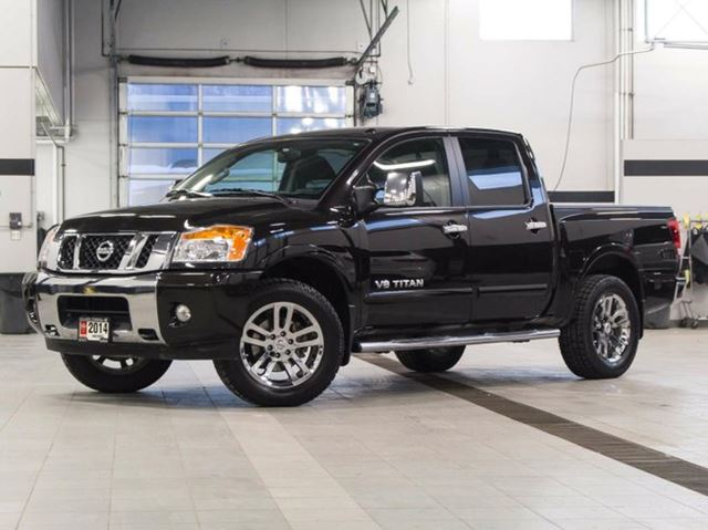 2014 nissan titan sl crew cab 4wd kelowna british columbia used car for sale 2674221. Black Bedroom Furniture Sets. Home Design Ideas