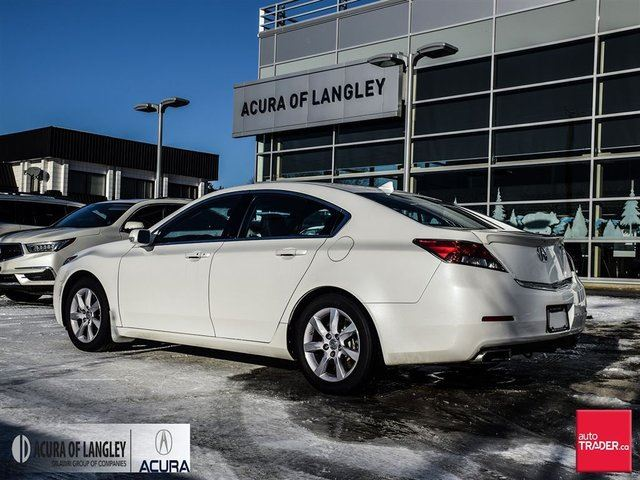 used 2014 acura tl tech at surrey. Black Bedroom Furniture Sets. Home Design Ideas