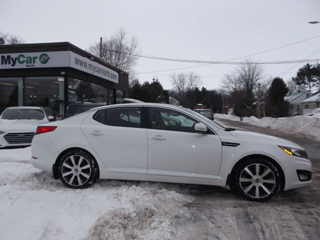 2013 kia optima ex luxury   north bay ontario used car for sale   2674234