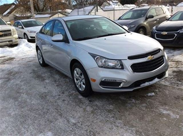 2015 chevrolet cruze lt 1lt edmonton alberta used car for sale 2674579. Black Bedroom Furniture Sets. Home Design Ideas