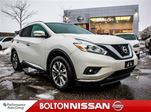 2016 Nissan Murano SL   Leather   Heated Seats   Navigation in Bolton, Ontario