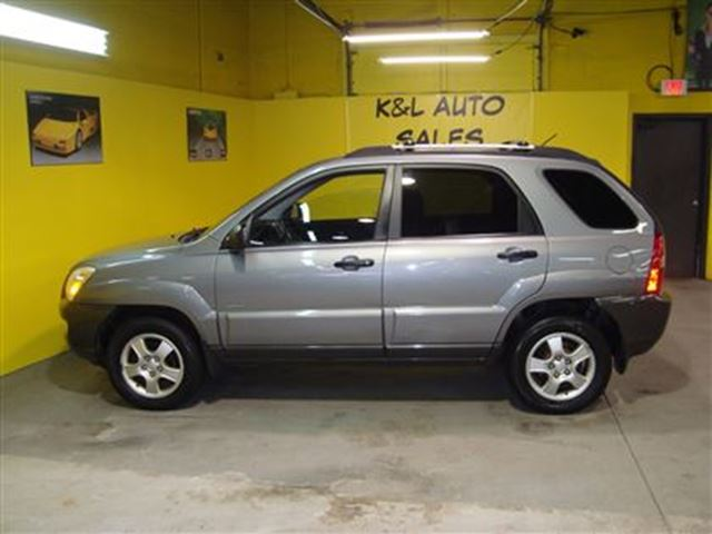 2006 kia sportage lx v6 awd no accidents ontario. Black Bedroom Furniture Sets. Home Design Ideas