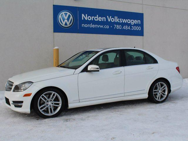 2013 mercedes benz c class c300 4matic edmonton alberta for 2013 mercedes benz c300