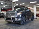 2015 Toyota Tundra Limited TRD Off Road, Bull Bar, Side Steps, Tri Fold Tonneau, Leather, Heated Seats, Sunroof, Touch Screen, Back Up Camera, Alloy Rims, Bluetooth, 5.7L, CrewMax, 4x4 in Edmonton, Alberta