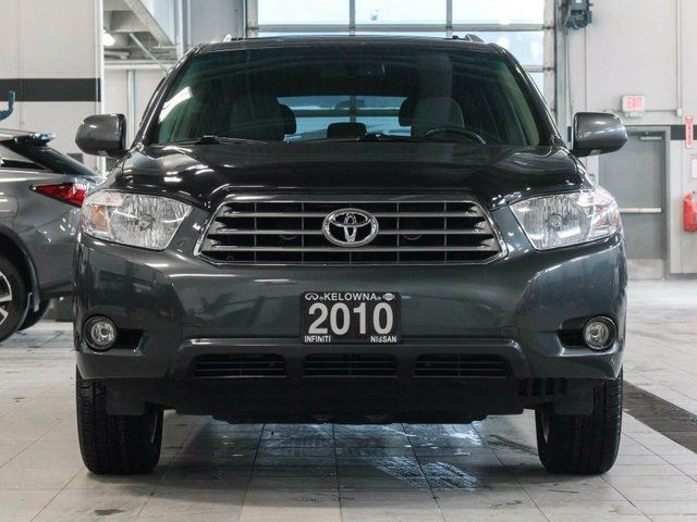 2010 toyota highlander limited v6 4wd kelowna british columbia used car for sale 2674753. Black Bedroom Furniture Sets. Home Design Ideas