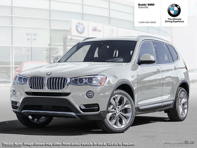 2017 bmw x3 xdrive35i silver budds bmw oakville. Black Bedroom Furniture Sets. Home Design Ideas