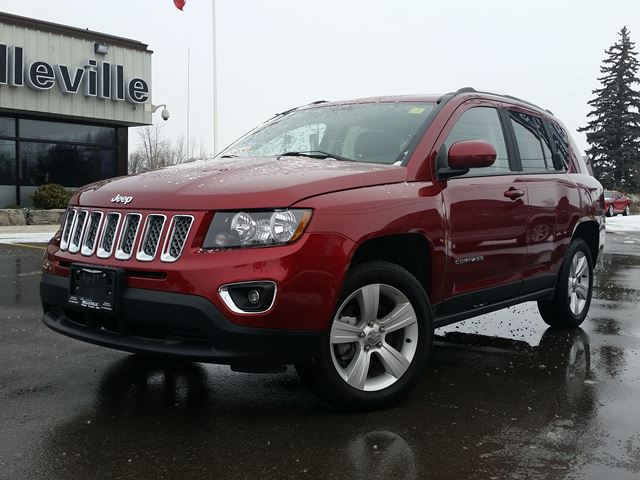 2016 JEEP Compass High Altitude-Sunroof, heated seats in Belleville, Ontario