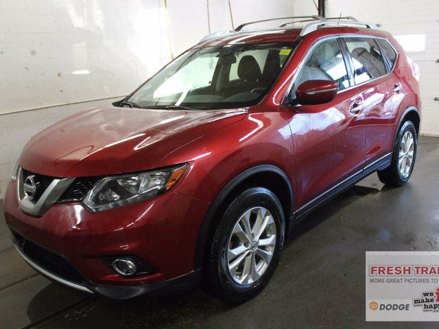 2015 nissan rogue sv awd power sunroof one owner clean carproof red southtown chrysler. Black Bedroom Furniture Sets. Home Design Ideas