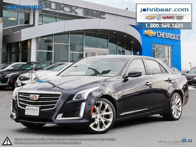 2015 cadillac cts 3 6l performance hamilton ontario used car for sale 2675407. Black Bedroom Furniture Sets. Home Design Ideas