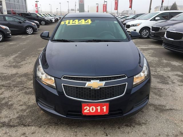 2011 chevrolet cruze lt turbo low low payments grimsby. Black Bedroom Furniture Sets. Home Design Ideas