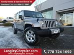 2014 Jeep Wrangler Unlimited Sahara LOCALLY DRIVEN, ONE OWNER & ACCIDENT FREE in Surrey, British Columbia