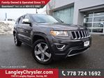 2016 Jeep Grand Cherokee Limited ACCIDENT FREE w/ 4X4, LEATHER & SUNROOF in Surrey, British Columbia