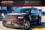 2015 Jeep Grand Cherokee Summit 4x4 Trailer Tow Pkg Nav Pano_Sunroof Leather H/K Audio 20Alloys in Thornhill, Ontario