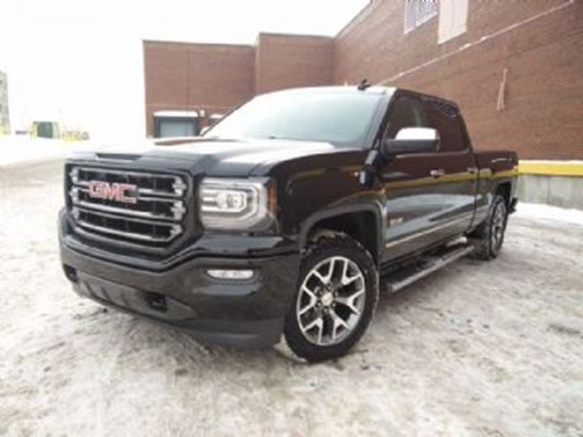 2016 gmc sierra 1500 sle all terrain 4wd crew cab 6 6 foot box black lease busters. Black Bedroom Furniture Sets. Home Design Ideas