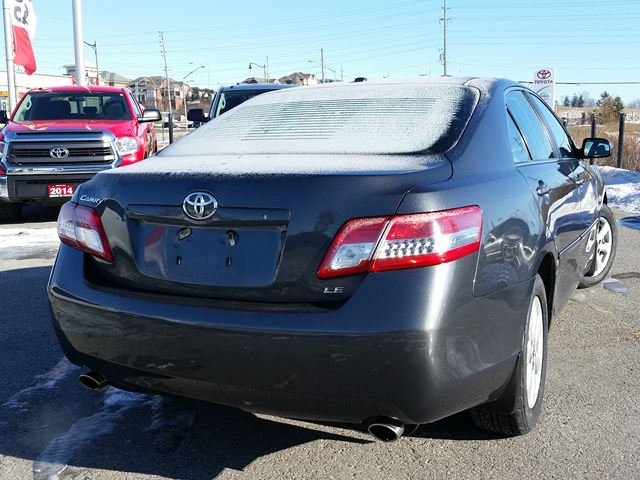 2010 toyota camry le aurora ontario used car for sale. Black Bedroom Furniture Sets. Home Design Ideas