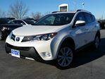 2013 Toyota RAV4 LIMITED--LEATHER-SUNROOF-NAVIGATION-EXTENDED TOYOTA WARRANTY in Belleville, Ontario