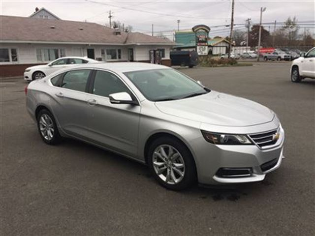 2016 chevrolet impala lt 2lt truro nova scotia used car. Black Bedroom Furniture Sets. Home Design Ideas
