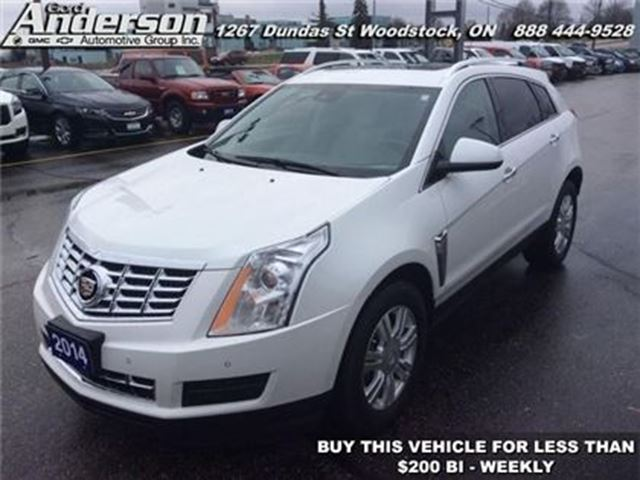 2014 cadillac srx luxury woodstock ontario used car for sale 2676291. Black Bedroom Furniture Sets. Home Design Ideas