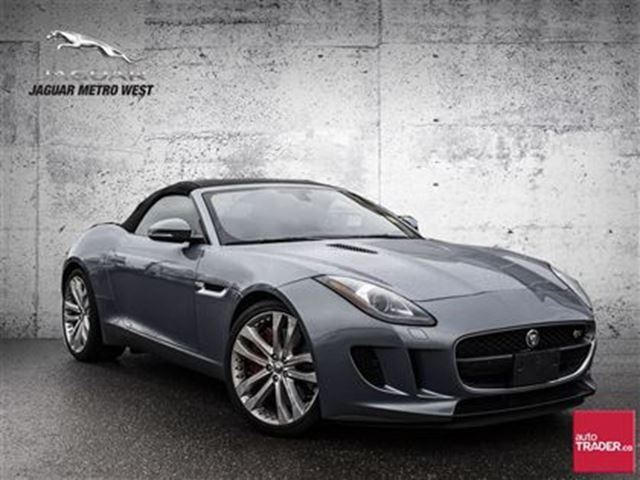 2014 jaguar f type s toronto ontario used car for sale 2676362. Black Bedroom Furniture Sets. Home Design Ideas