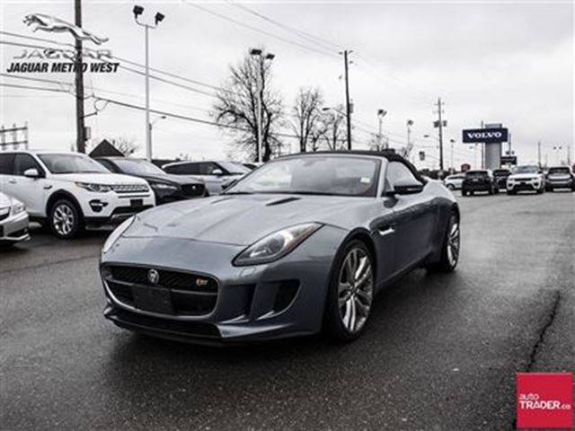 2014 jaguar f type s toronto ontario used car for sale 2676362. Cars Review. Best American Auto & Cars Review