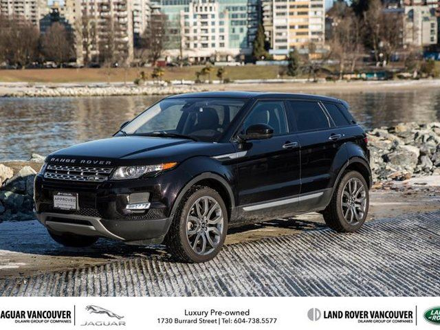 2015 land rover range rover evoque prestige black mcl motor cars inc. Black Bedroom Furniture Sets. Home Design Ideas