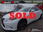 2014 Lexus IS 350 SOLD!!!F-SPORT*RED INTERIOR*AWD in Toronto, Ontario