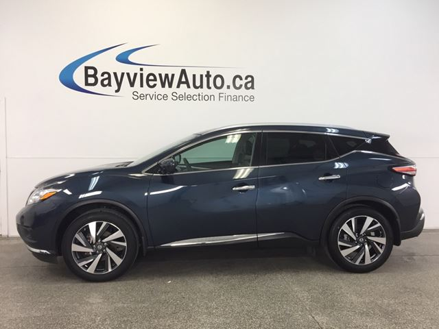 2016 nissan murano platinum awd remote start leather 7 rider blue bayview auto sales. Black Bedroom Furniture Sets. Home Design Ideas