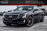 2016 Cadillac ATS Premium Collection AWD Navi Backup Cam Bluetooth R-Start Heated Seat 18Alloy Rims in Bolton, Ontario