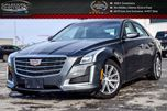 2016 Cadillac CTS Luxury AWD Navi Pano Sunroof Bluetooth Backup Cam Leather R-Start Heated Seat 17Alloy Rims in Bolton, Ontario