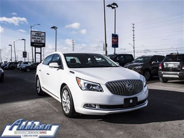 2015 buick lacrosse leather white addison chevrolet. Black Bedroom Furniture Sets. Home Design Ideas